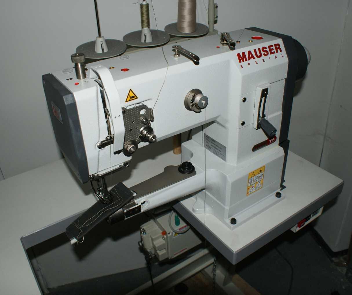 Industrienähmaschine Mauser Spezial 335 Dreifachtransport
