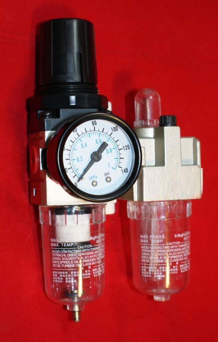 AC2010-02 Wartungseinheit Filterregler Öler Pneumatik
