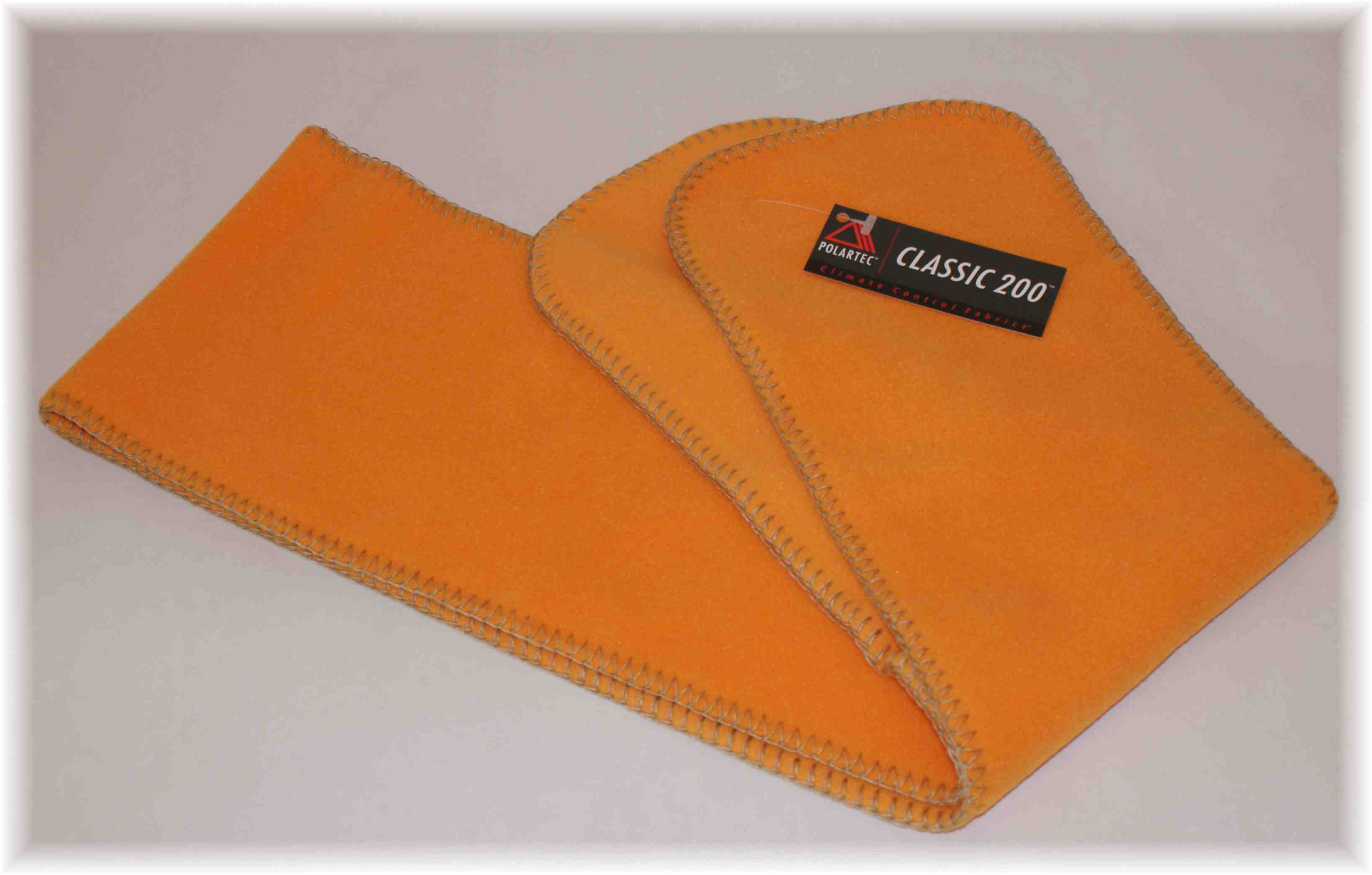 Polartec 200 Fleeceschal  ORANGE
