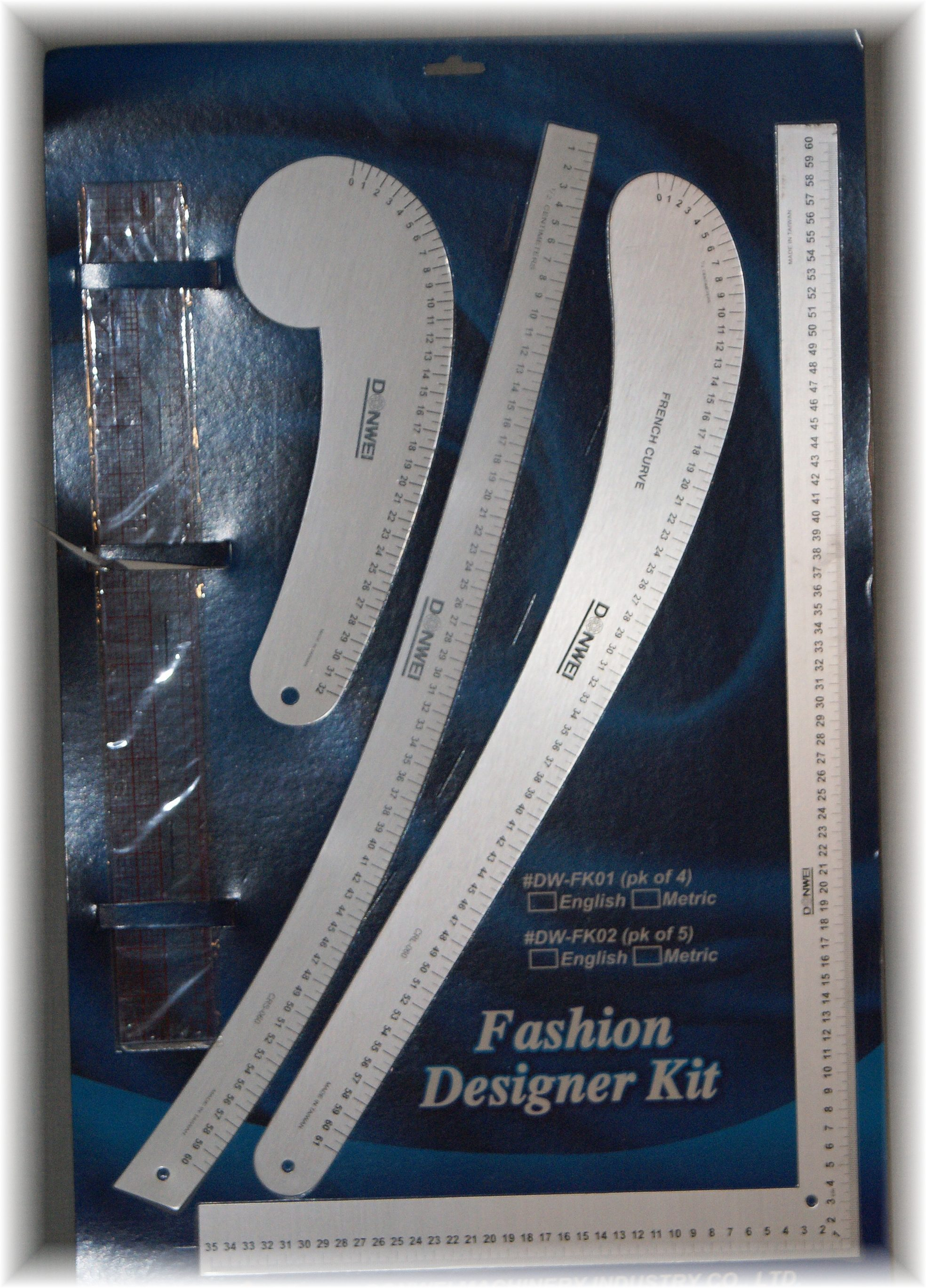 Designer Lineal Fashion Kit